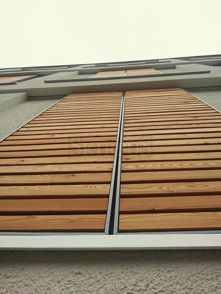 Outdoor Sliding Shutters Skirpus Wooden Blinds And Shutters Factory