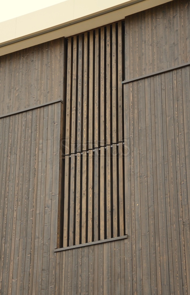 Wooden Facade Louvers Skirpus Wooden Blinds And Shutters