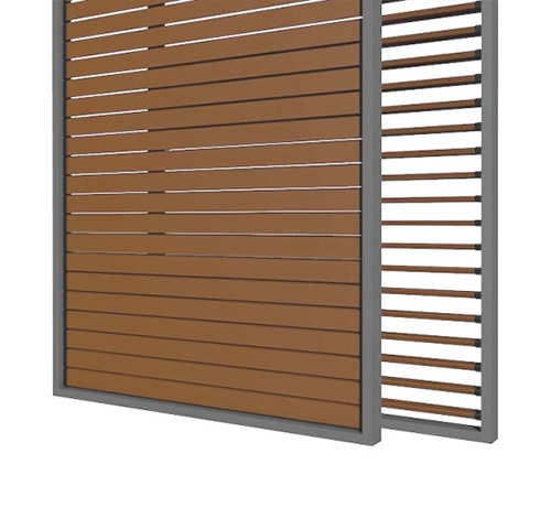 Outdoor sliding shutters TYPE 4