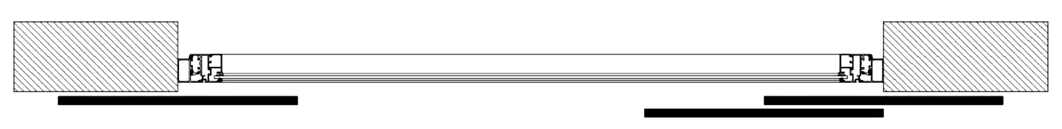 Sliding Shutters Division Diagram 3l1l2r