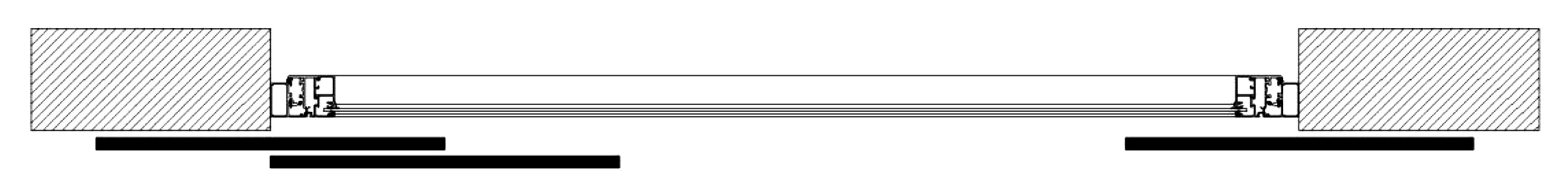 Sliding Shutters Division Diagram 3l2l1r