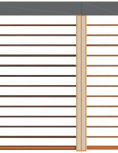 Skirpus Outdoor Wooden Blinds Technical Catalogue Double Guide
