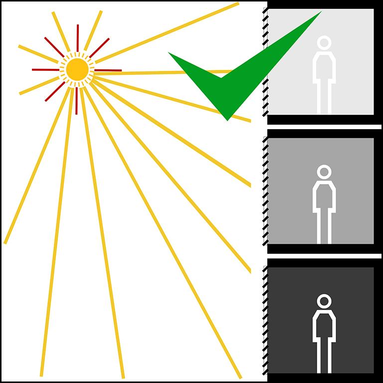 Sliding Shutters Light Effect